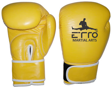 Leather Super Boxing Gloves