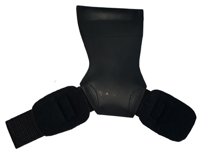 COBRA GRIPS FIT WEIGHT LIFTING GLOVES BLACK RUBBER